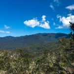 Summit views with Cerro Echandi in the distance
