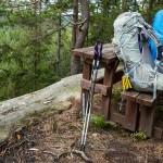Packs off, break time (Osprey Aura AG 65L)