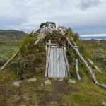 Abandoned goahti