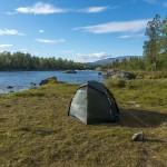 Campsite by Piteälven