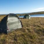 Campsite at the Suonergårsså highland plateau