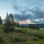 Sunset in Kvikkjokk