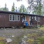 STF hut in Pårte