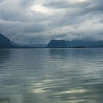 Boat ride across to Aktse