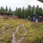STF huts in Aktse