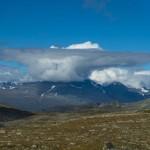 Ominous clouds over Sarek