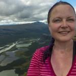 Selfie on the Skierfe summit