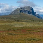 Fall colors on Kungsleden