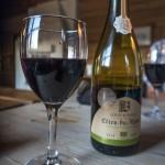 Celebration in the shape of wine