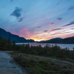 Another magical sunset in Saltoluokta