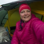 Happy in my new Hilleberg Allak