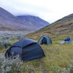 Campsite at Álggajåhkå