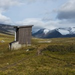 Outhouse at Mikkastugan