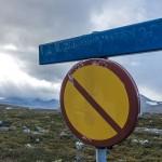 Weathered signage