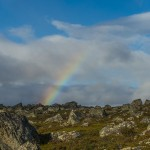 Rainbow over Sarek