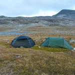 Campsite at Saddle between Gähppo and Vuovres